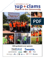 CleanUp+Clams 2014 Community Report