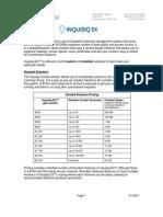 InquisiqEX Pricing