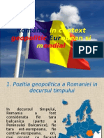 Romania in Context Geopolitic European Si Mondial