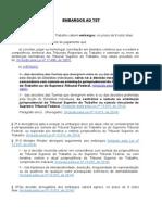 Reursos CLT - Lei 2014