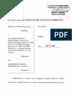 Lyons v. NWTS (WA Supreme Court 2014)