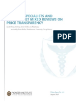 Physician Transparency WP