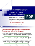 l4b Risk Management Applications of Swaps and Swaptions