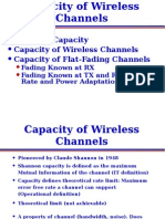 Capacity of Wireless Channels Lecture