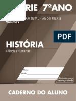 CadernoDoAluno 2014 2017 Vol2 Baixa CH Historia EF 6S 7A