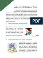 Los Cinco Mandamientos Del Estudiante Virtual