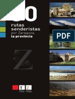 30 RUTAS SENDERISTAS POR LA PROVINCIA DE ZARAGOZA