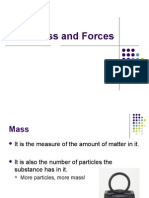 Mass and Forces