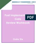Post Implementation Review Workbook October 2013