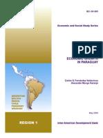 EconomicGrowthParaguay BID
