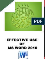 MS Word AZJune