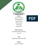Unidad Central de Procesos (CPU)