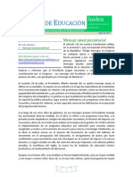Informe Iniden - Julio 2015