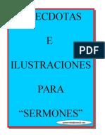 Anecdotas para sermones Manual