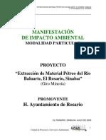 Material de Rio Estudio Ambiental