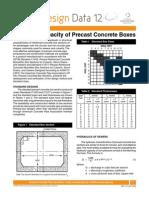 Precast Concrete Box Drain