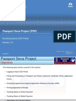 Passport Process Flow