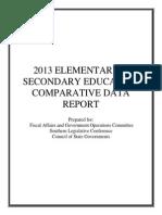 2014 Education Comparative Data Report
