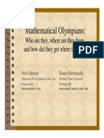 All About Math Olympics
