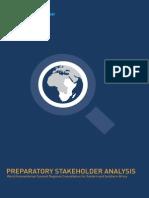 WHS ESA Stakeholder Analysis
