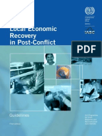 ILO_Local Economic Recovery in Post_Conflict