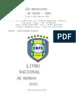 Livro Nacional de Regras 2015
