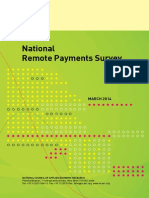 1413796175Report National Remote Payments Survey March 2014