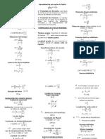Formulario de Física Moderna i