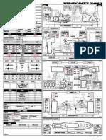 XRAY NT1 - 2013 Specs Basic Setup Sheet
