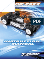 XRAY NT1 Instruction Manual