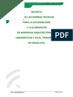 Accesibilidad Andalucia Decreto 72-92,5-5. (Imagenes)