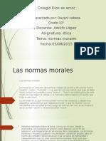 Las Normas Morales