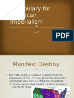 vocabulary for american imperialism
