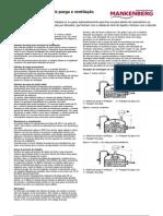 Válvulas de purga e ventilação
