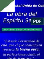 La Obra Del Espíritu Santo.