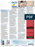 Pharmacy Daily for Wed 12 Aug 2015 - Accreditation under fire, Meningococcal facts, 01 Oct pricing update, Health & Beauty and much more