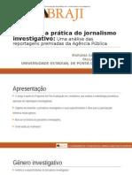 A teoria e a prática do jornalismo investigativo