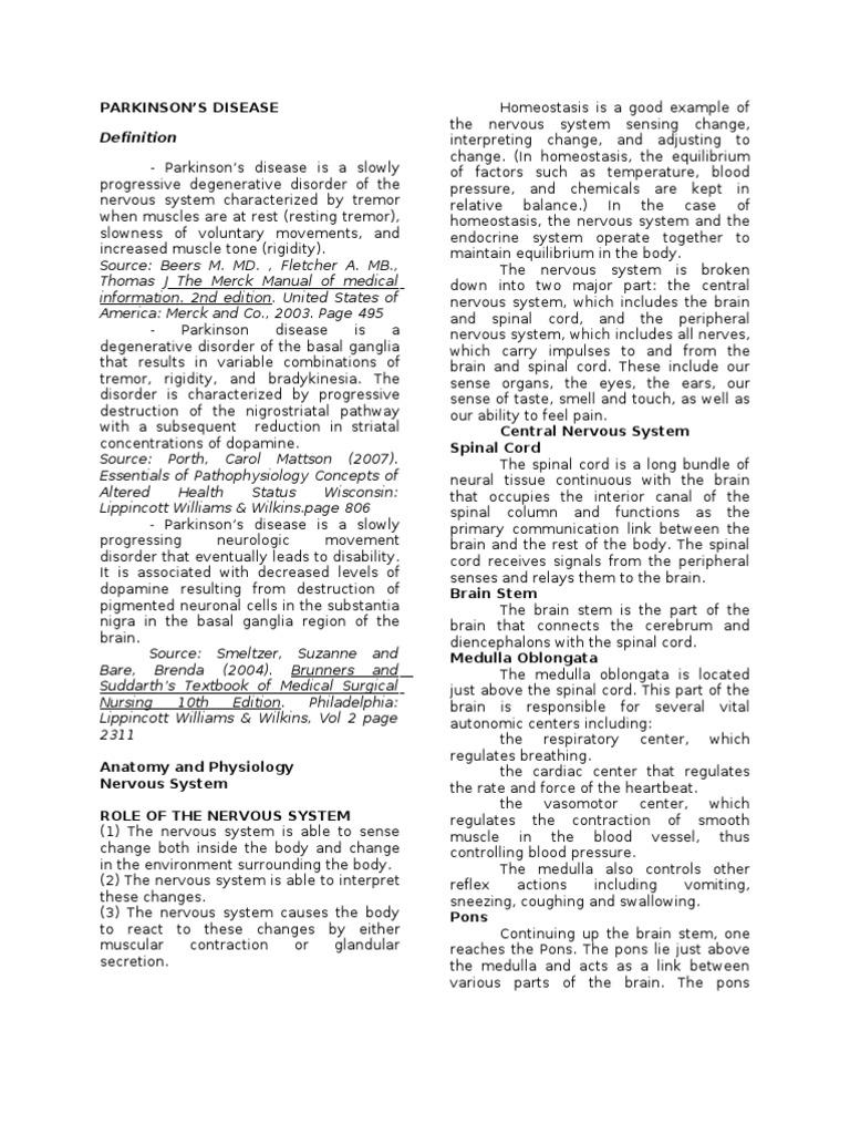Parkinson\'s Disease | Basal Ganglia | Striatum