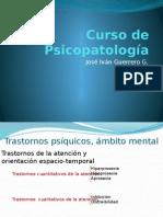 2. Trastornos de La Atención y La Orientación Espacio-temporal
