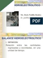 balance hidroelectrico
