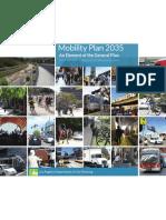 Mobility Plan 2035