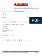 Álgebra Linear - Exercícios Resolvidos - Autovalores e Autovetores