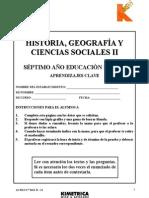 PRUEBA AC HISTORIA 7° BAS II 2012