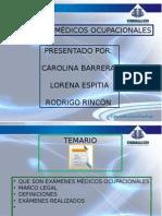 Examen Medico Ocupacional