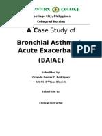 Bronchial Asthma Pdf