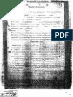 1937, 17 Septiembre Ficha de La Ss de Adolf Eichmann
