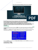 Aprende Formatear Pc Instalando Windows Xp y Buscar Drivers