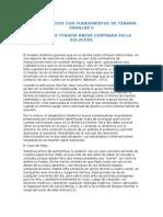 Casos Clinicos Con Fundamentos en La Terapia Familiar I. Modelo Estructural