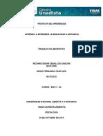 Aprendo a Aprender en La Modalidad a Distancia TRABAJO COLABORATIVO - 80017-52