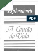 A Canção Da Vida -Jiddu Krishnamurti